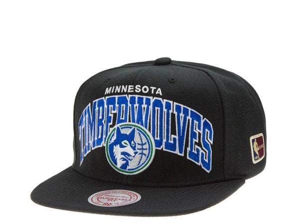 Mitchell & Ness Minnesota Timberwolves Team Arch black Snapback Cap