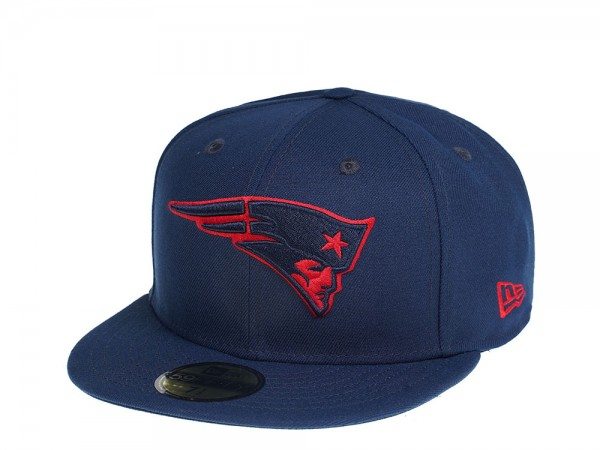 New Era New England Patriots Prime Pop Edition 59Fifty Fitted Cap