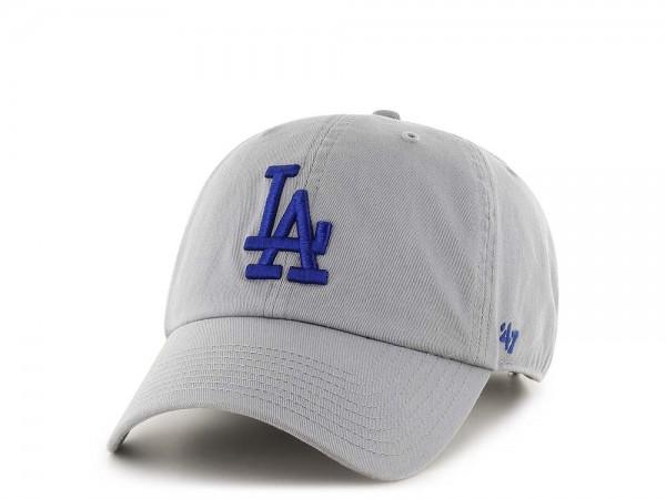 47Brand Los Angeles Dodgers Clean Up Storm Strapback Cap