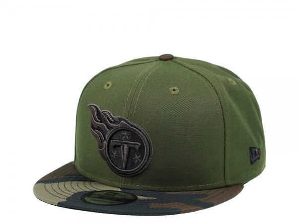 New Era Tennessee Titans Wood Camo 9Fifty Snapback Cap