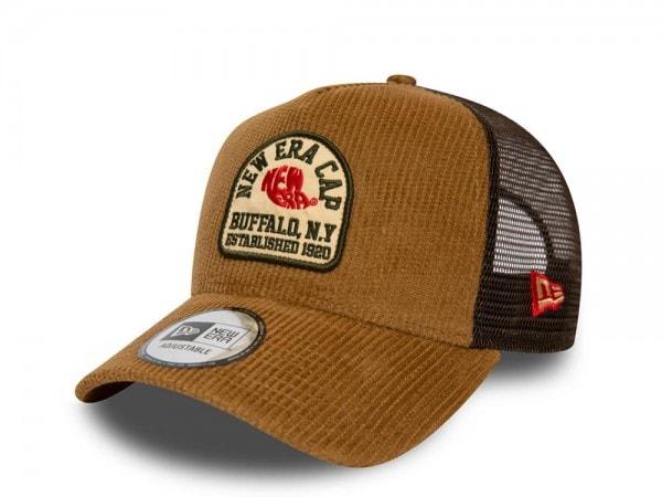 New Era Vintage Patch Cord Trucker Snapback Cap
