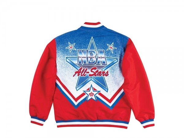 Mitchell & Ness Authentic NBA Warm Up Jacke - All Star Game 1991 West