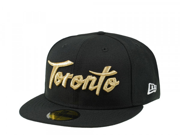 New Era Toronto Raptors City Gold Edition 59Fifty Fitted Cap