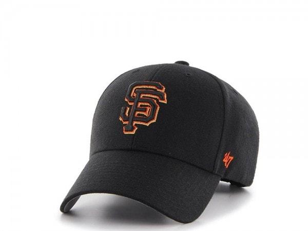 47brand San Francisco Giants Curved MVP Snapback Cap