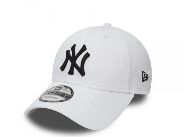 New Era New York Yankees White 9forty Adjustable Cap