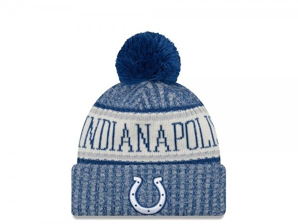 New Era Indianapolis Colts Sideline 2018 Mütze