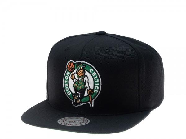 Mitchell & Ness Boston Celtics Wool Solid Snapback Cap