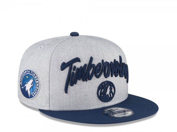 New Era Minnesota Timberwolves NBA Draft 20 9Fifty Snapback Cap
