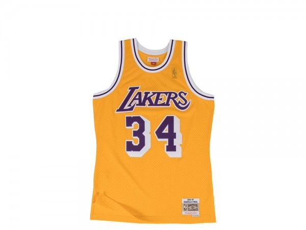 Mitchell & Ness Los Angeles Lakers - Shaquille O'Neal Swingman Jersey 2.0 1996-1997