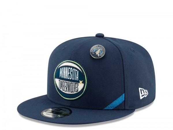 New Era Minnesota Timberwolves Draft 19 9Fifty Snapback Cap