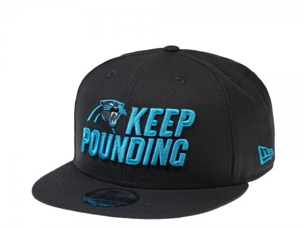 New Era Carolina Panthers Keep Pounding Edition 9Fifty Snapback Cap