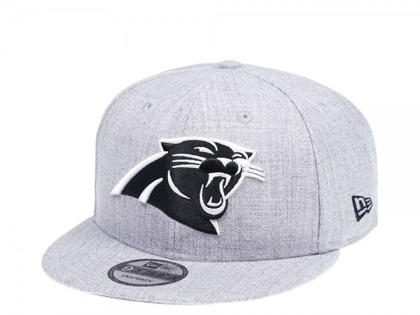 New Era Carolina Panthers Heather Grey Edition 9Fifty Snapback Cap