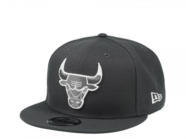 New Era Chicago Bulls Graphite Edition 9Fifty Snapback Cap