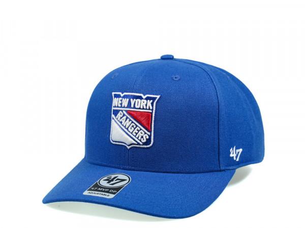 47Brand New York Rangers Cold Zone MVP DP Snapback Cap