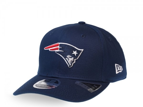 New Era New England Patriots Navy 9Fifty Stretch Snapback Cap