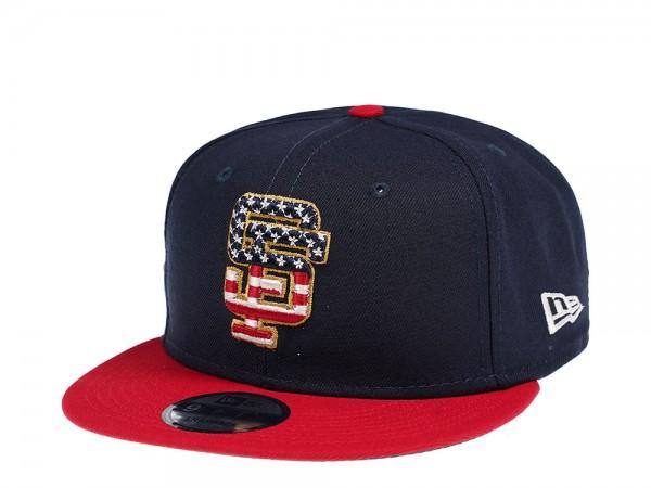 New Era San Francisco Giants 4th July Edition 9Fifty Snapback Cap