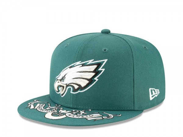 New Era Philadelphia Eagles Draft 19 9Fifty Snapback Cap