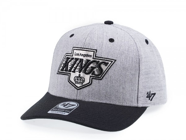 47Brand Los Angeles Kings Storm Cloud MVP DP Snapback Cap