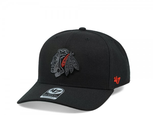 47brand Chicago Blackhawks Color Detail MVP DP Snapback Cap
