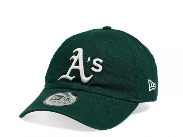 New Era Oakland Athletics Casual Classic Green Strapback Cap