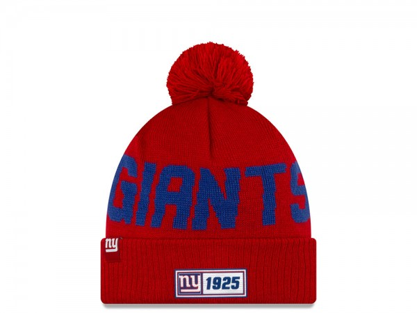 New Era New York Giants Sideline 2019 Road Reversible Color Mütze