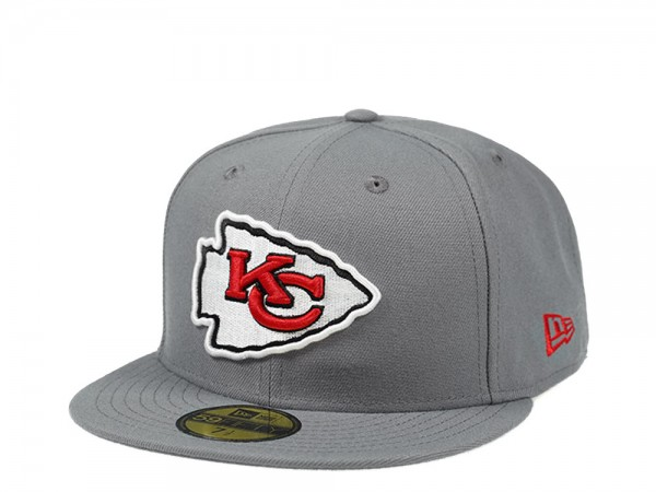 New Era Kansas City Chiefs Storm Gray Edition 59Fifty Fitted Cap