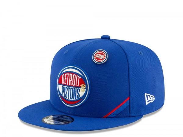 New Era Detroit Pistons Draft 19 9Fifty Snapback Cap