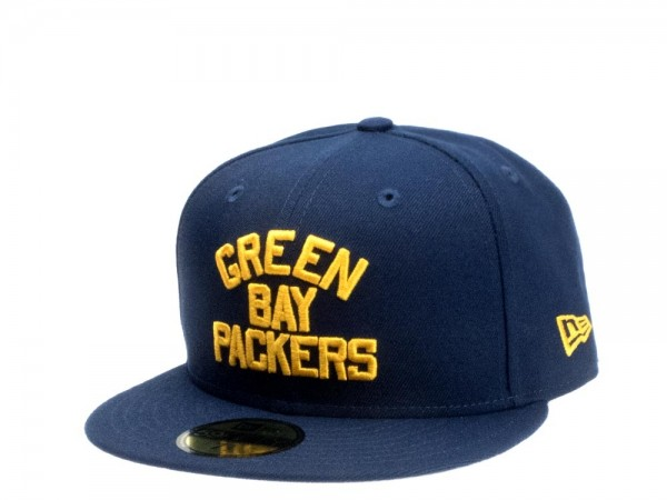 New Era Green Bay Packers Throwback Edition 59Fifty Fitted Cap