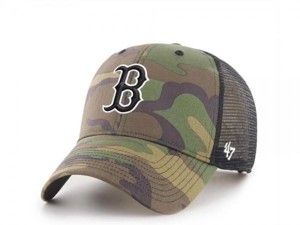 47Brand Boston Red Sox MVP Camo Trucker Snapback Cap