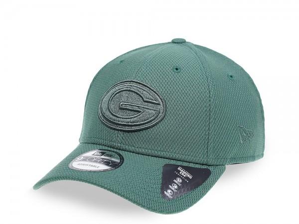 New Era Green Bay Packers Mono Colour 9Forty Snapback Cap