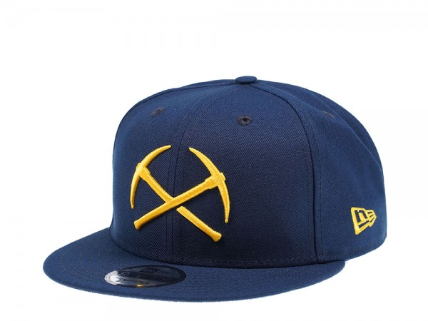 New Era Denver Nuggets Logo Parts Edition 9Fifty Snapback Cap