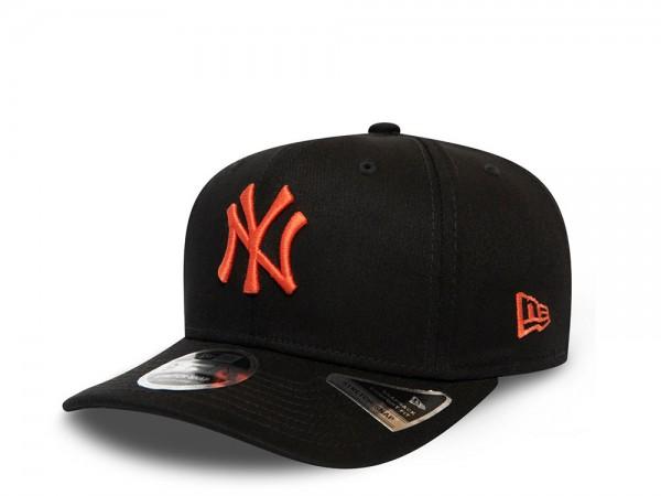 New Era New York Yankees Black and Orange 9Fifty Stretch Snapback Cap