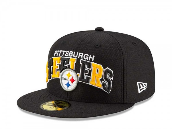 New Era Pittsburgh Steelers Sideline Cap Home 59Fifty Fitted Cap