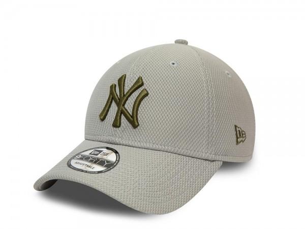 New Era New York Yankees Diamond Era Gray 9Forty Snapback Cap
