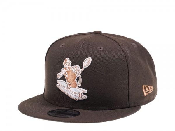New Era Pittsburgh Steelers Walnut Edition 9Fifty Snapback Cap