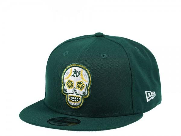New Era Oakland Athletics Skull Edition 9Fifty Snapback Cap