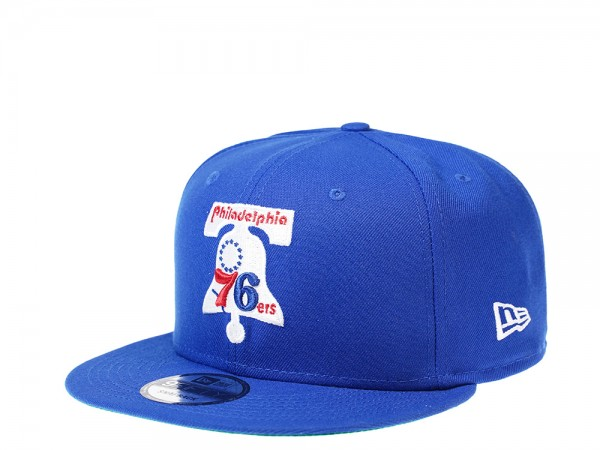 New Era Philadelphia 76ers Bell HWC 9Fifty Snapback Cap