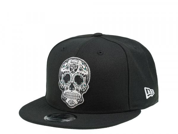 New Era Las Vegas Raiders Skull Edition 9Fifty Snapback Cap