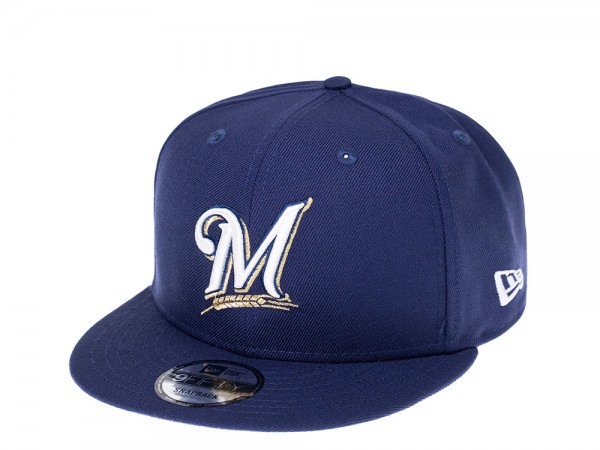 New Era Milwaukee Brewers 40 Years Edition 9Fifty Snapback Cap