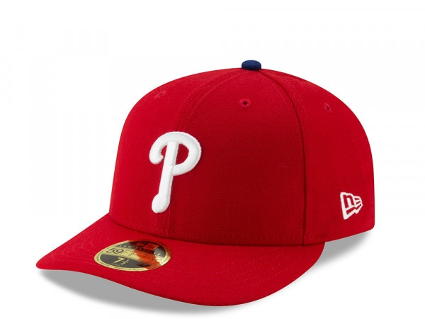 New Era Philadelphia Phillies Authentic On-Field Low Profile 59Fifty Fitted Cap