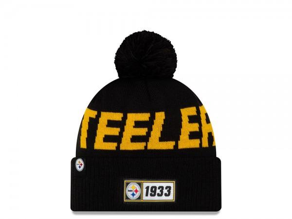 New Era Pittsburgh Steelers Sideline 2019 Road Mütze
