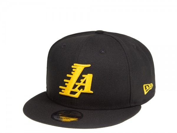 New Era Los Angeles Lakers LA Script 9Fifty Snapback Cap