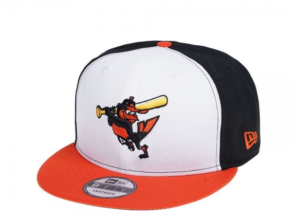 New Era Baltimore Orioles Two Tone Heritage Edition 9Fifty Snapback Cap
