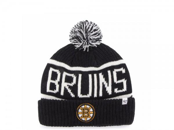 47 Brand Boston Bruins Calgary Cuff Mütze