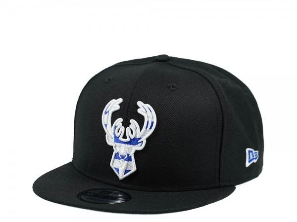 New Era Milwaukee Bucks Greek Edition 9Fifty Snapback Cap