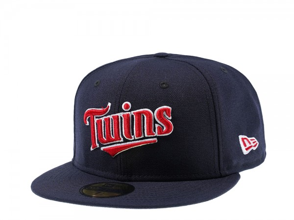 New Era Minnesota Twins Jersey Logo 59Fifty Fitted Cap