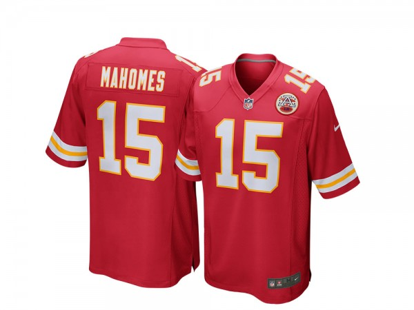 Nike Kansas City Chiefs Patrick Mahomes Home Game NFL Jersey