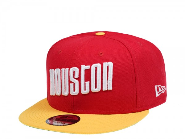 New Era Houston Rockets HWC 2Tone Edition 9Fifty Snapback Cap