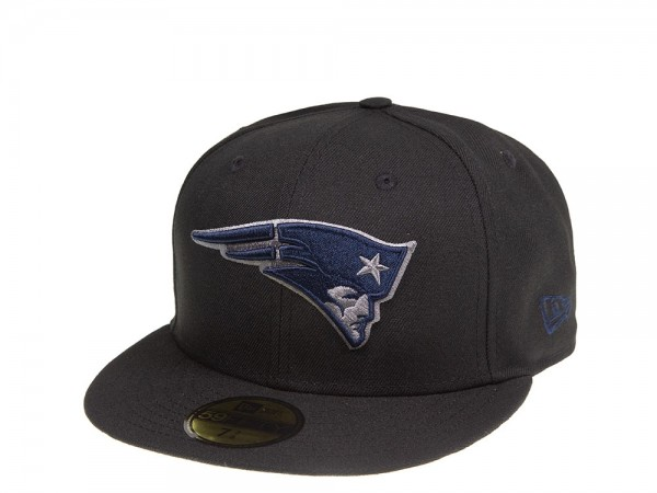 New Era New England Patriots Blue and Grey 59Fifty Fitted Cap