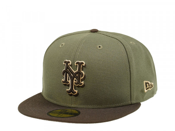New Era New York Mets Walnut Edition 59Fifty Fitted Cap